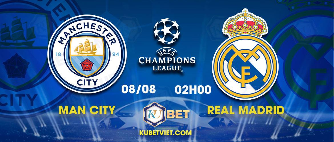 Manchester City vs Real Madrid